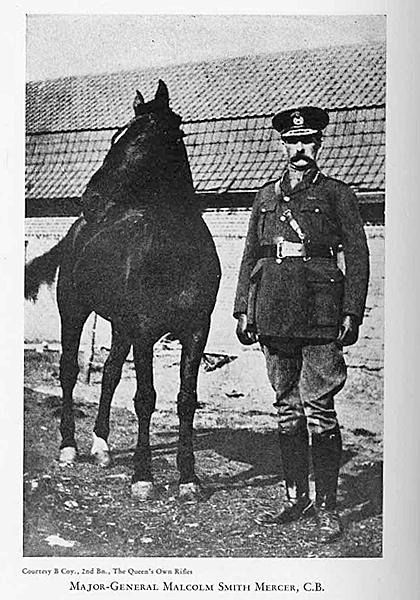 Major-General Malcolm Smith Mercer